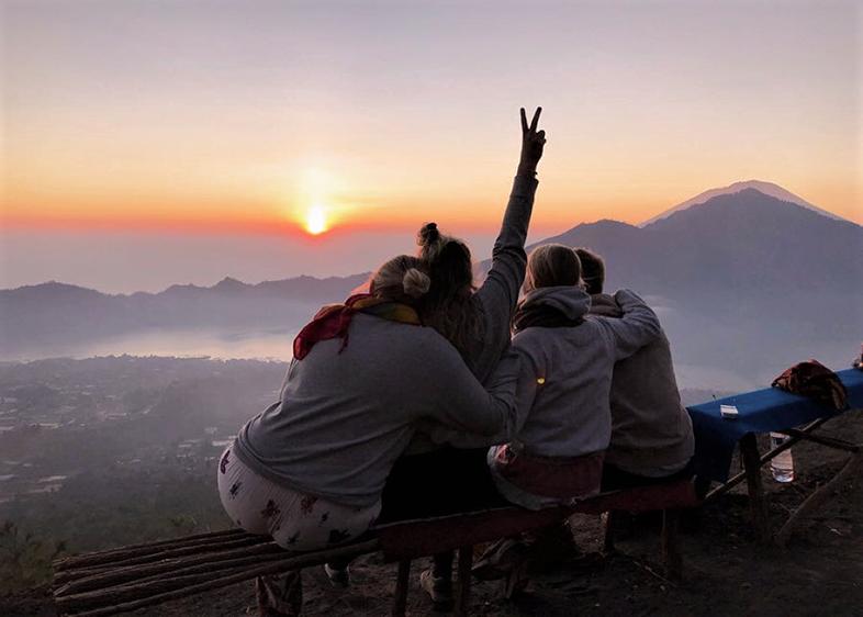 Bali Sonnenaufgang Batur