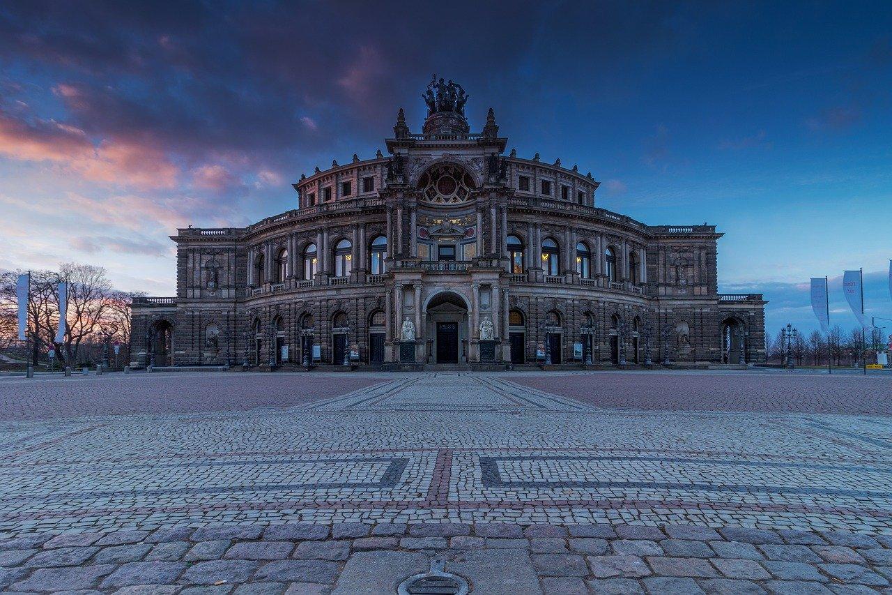 Die schoensten Staedte Deutschlands Dresden