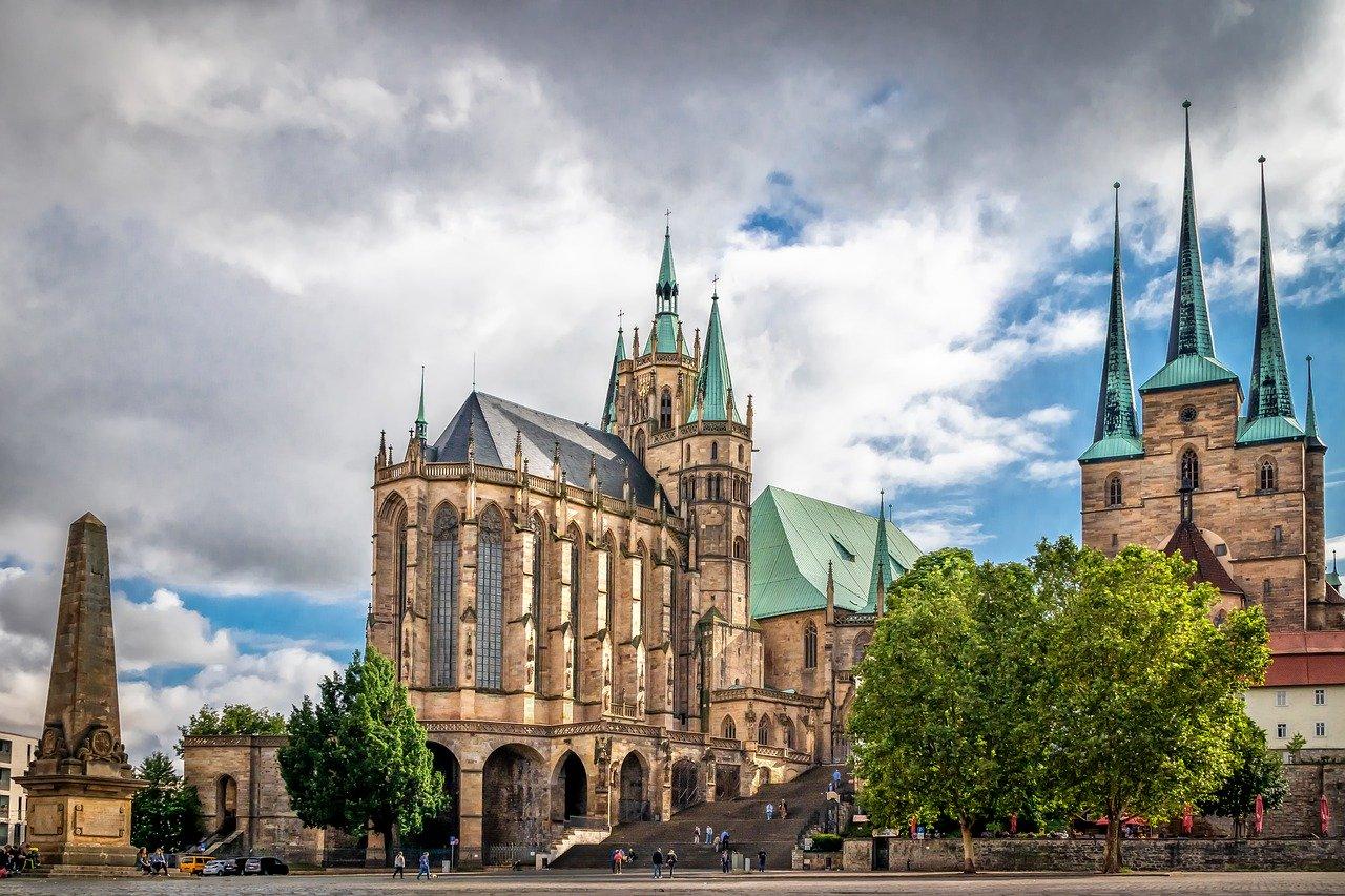 Die schoensten Staedte Deutschlands Erfurt