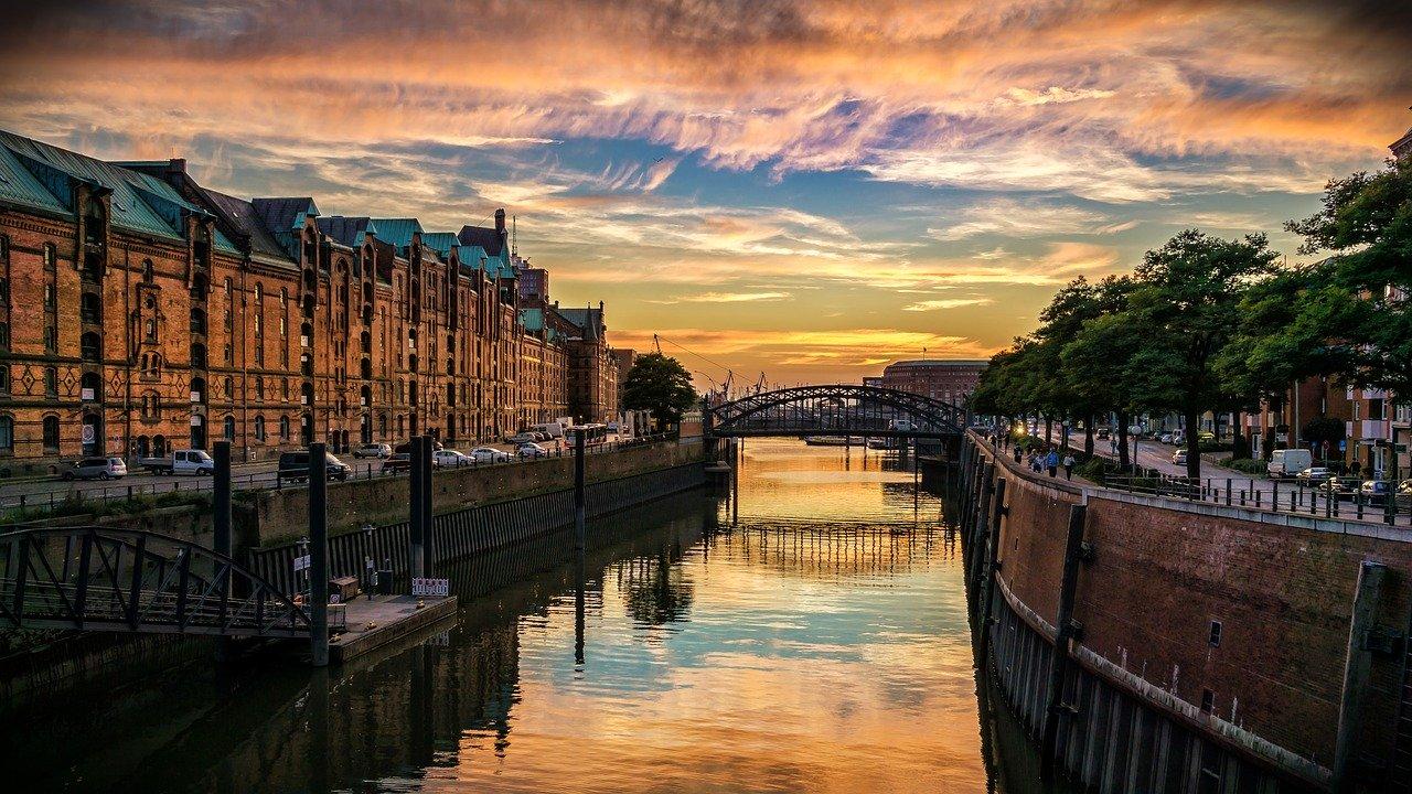 Die schoensten Staedte Deutschlands Hamburg