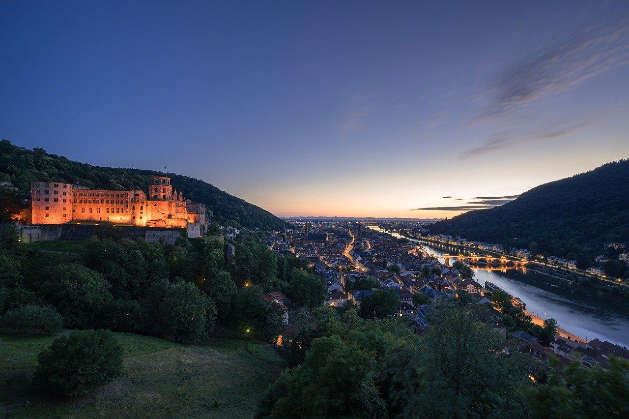 Die schoensten Staedte Deutschlands Heidelberg