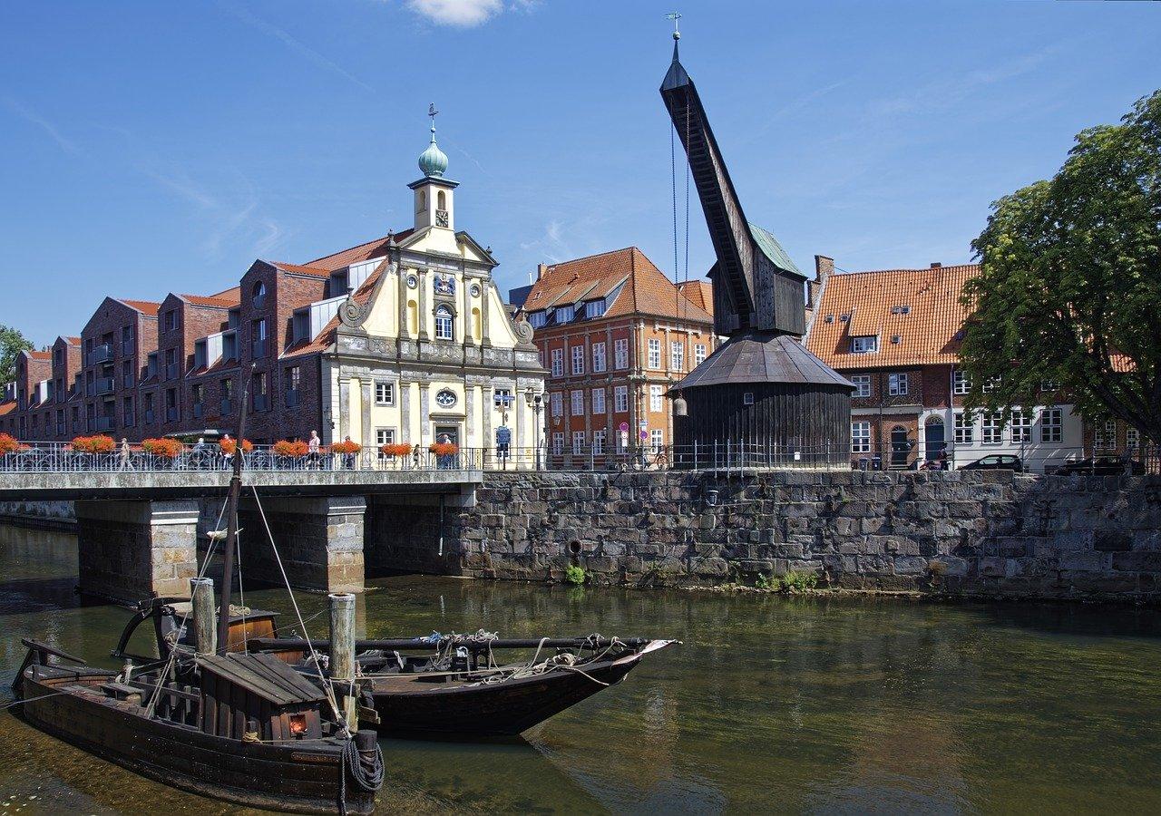 Die schoensten Staedte Deutschlands Lueneburg