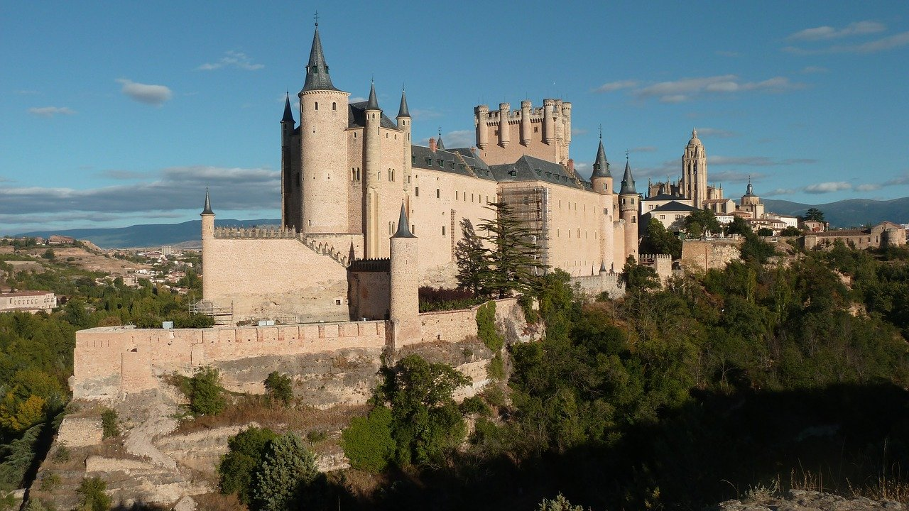 Historische Metropole Segovia Alcazar
