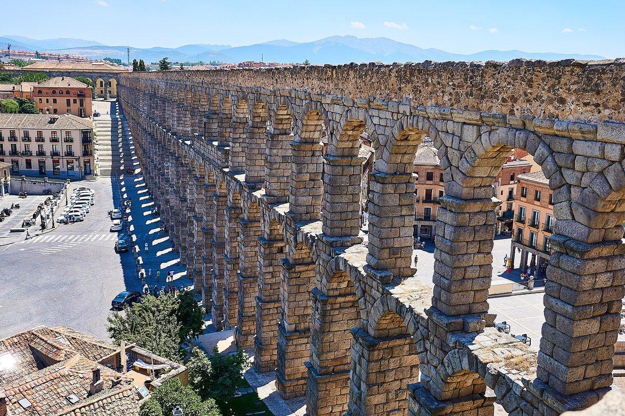 Historische Metropole Segovia Aquaedukt