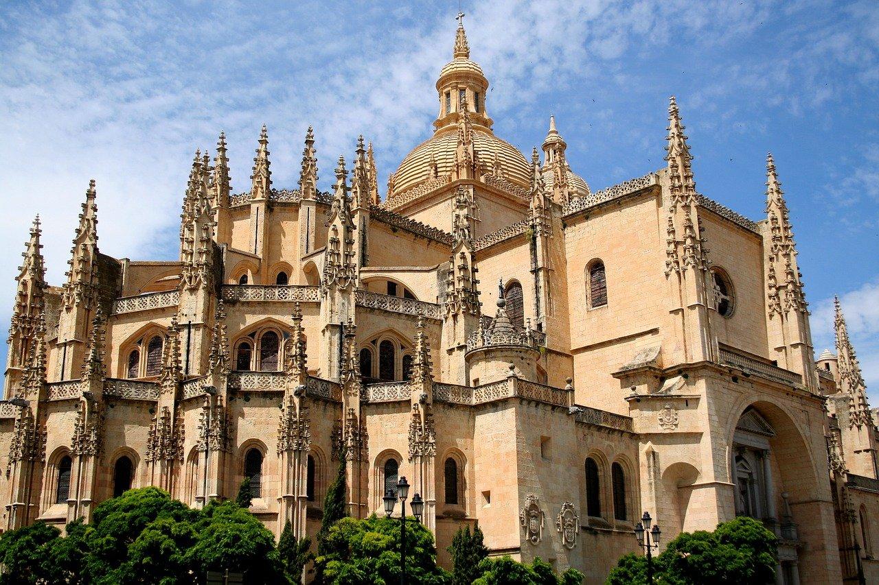 Historische Metropole Segovia Kathedrale