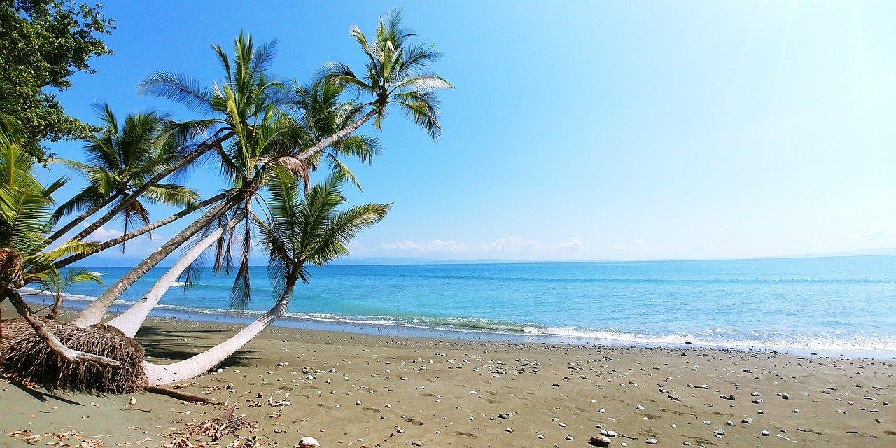 Naturparadies Costa Rica Strand