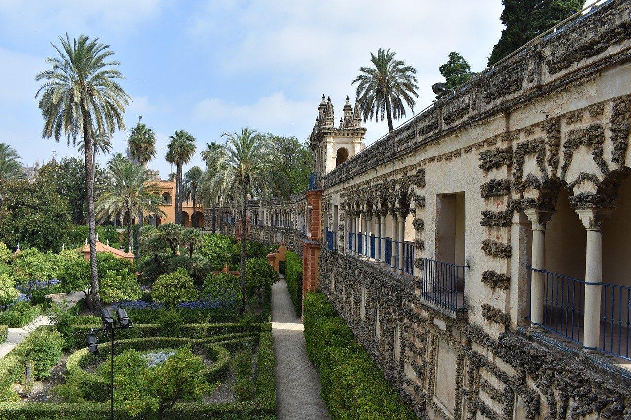 Sevilla die Hauptstadt Andalusiens Alcazar