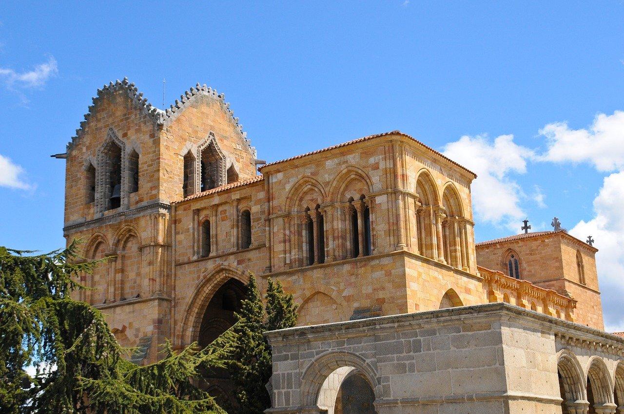 UNESCO Weltkulturerbe Avila Basilica de San Vicente