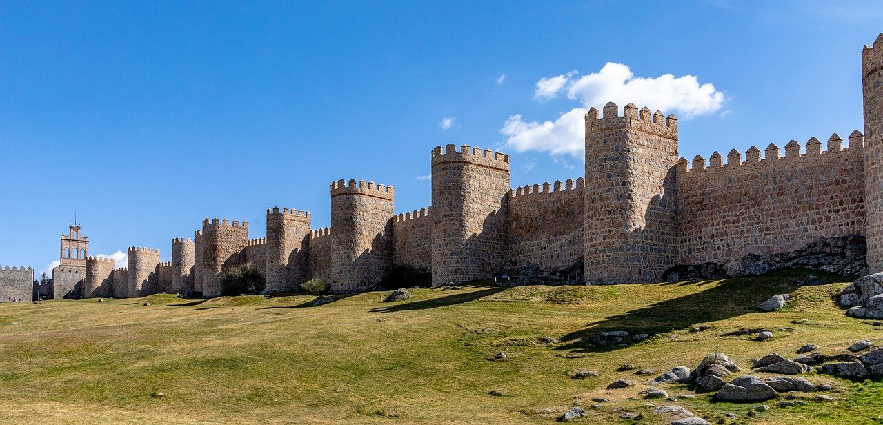 UNESCO Weltkulturerbe Avila Stadtmauer