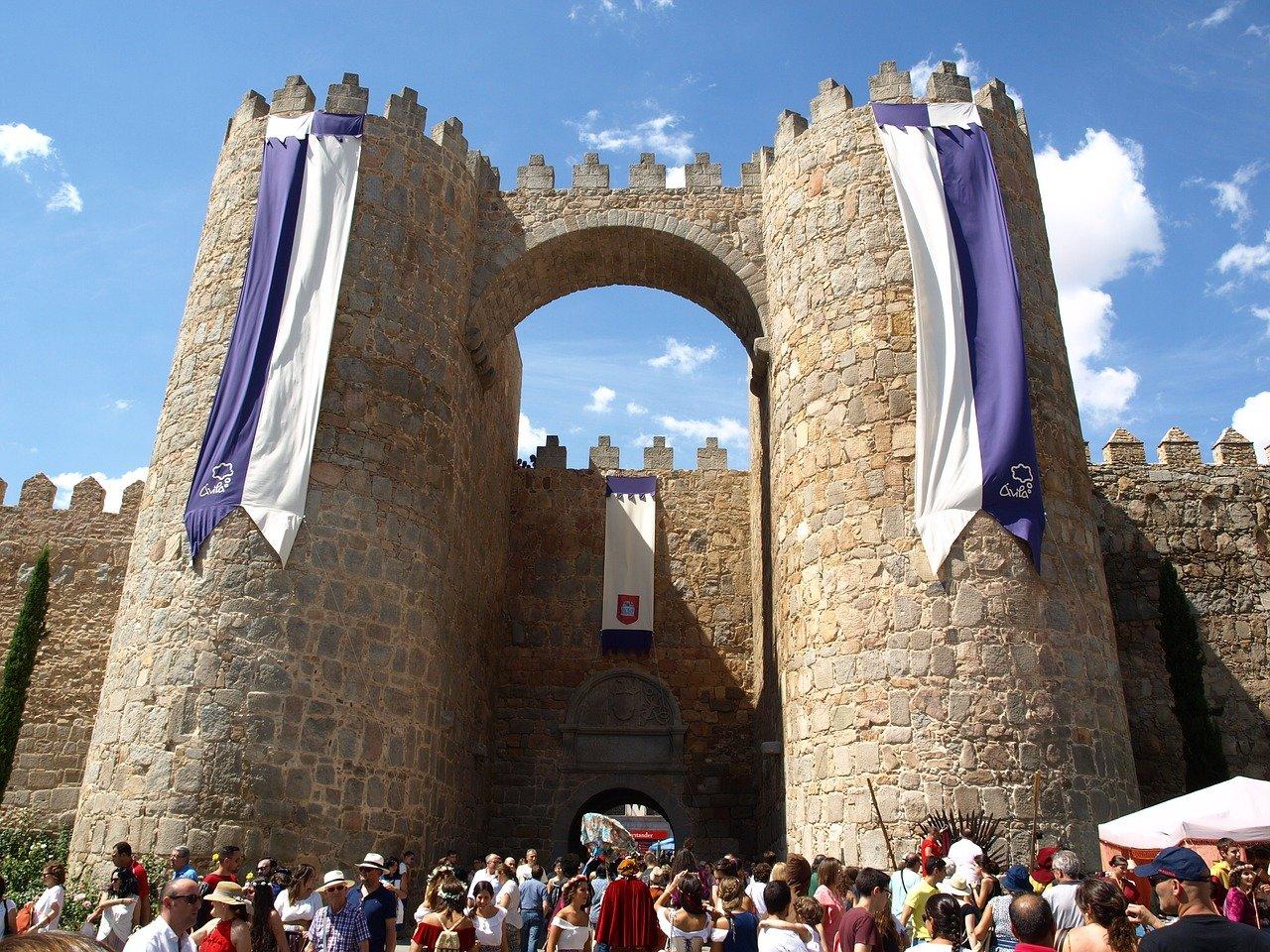 UNESCO Weltkulturerbe Avila Stadttor